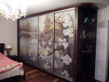 Корпусные шкафы-купе Шкаф-купе в спальню за 8 100 руб