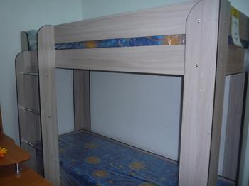"""Детские кровати Кровать 2-х ярусная """"Кроха"""" за 8 500 руб"""
