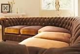Мягкая мебель Угловой диван Честерфилд за 124925.0 руб