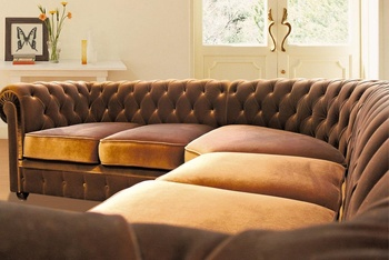 Диваны Угловой диван Честерфилд за 124 925 руб