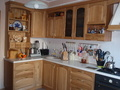 Кухонный гарнитур из массива дуба.