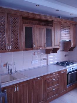 Кухонные гарнитуры Кухонный гарнитур из массива ДУБА за 50 000 руб