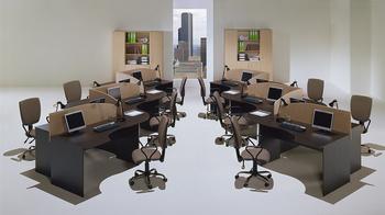 Мебель для персонала Симпл за 1 630 руб