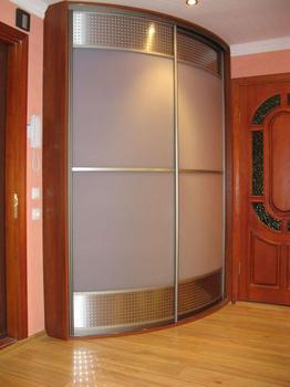 Радиусные шкафы-купе шкаф радиусный за 25 000 руб