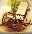 Плетеная мебель Кресло качалка 05/10Б за 14900.0 руб