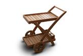 Специализированная мебель Стол сервировочный из термомодифицированой березы за 3999.0 руб