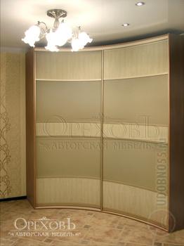 Радиусные шкафы-купе Радиусный шкаф-купе за 19 000 руб