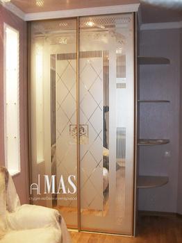 Встроенные шкафы-купе Решетка за 12 000 руб