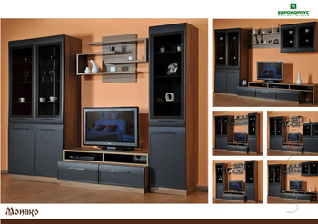 ТВ-тумбы ТВ - тумба Монако за 9 024 руб