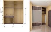 Встроенные шкафы-купе Шкаф-купе за 15000.0 руб