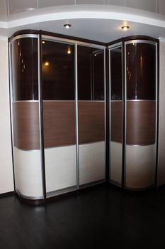 Радиусные шкафы-купе Шкаф -купе за 40 000 руб