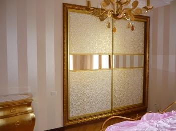 Встроенные шкафы-купе шкаф купе с багетом за 49 900 руб