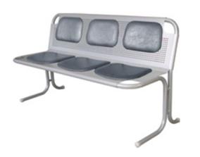 Кресла секционные Скамья  3-местная за 5 146 руб
