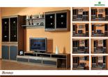 Корпусная мебель Полка 2 плоскости Монако за 3650.0 руб
