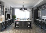 "Мебель для кухни Афина ""Неро"" за 40000.0 руб"