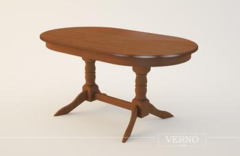 Обеденные столы Стол на двух точеных опорах за 14 000 руб