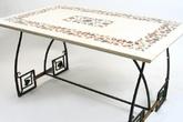 Кованый журнальный столик за 17000.0 руб