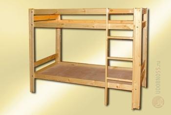 Детские кровати Кровать детская двухъярусная за 6 100 руб
