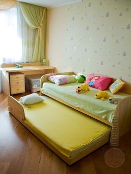 Детские кровати Кровать диван двойная с ограничителем за 27 500 руб