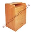 Корпусная мебель Комод № 4 пеленальный за 3200.0 руб