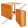 Раскладные столы Стол обеденный раскладной № 1 за 1900.0 руб