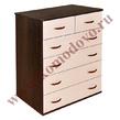 Корпусная мебель Комод 2/4 (комби) за 3200.0 руб