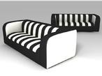 Мягкая мебель для кафе и ресторана Зебра за 9472.0 руб